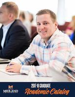 2017-2018 Graduate Catalog Cover
