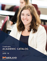 2018-2019 Graduate Academic Catalog Cover
