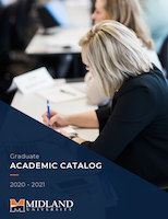2020-2021 Graduate Academic Catalog Cover