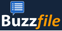 This image has an empty alt attribute; its file name is Buzzfile-Logo.png