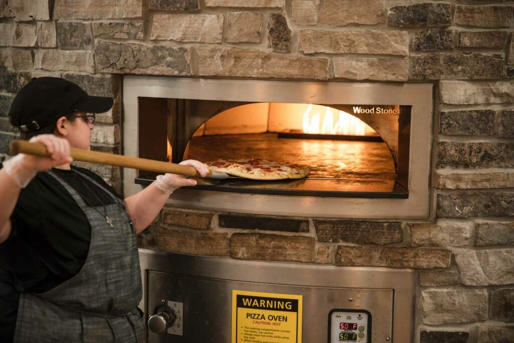 Dining Hall Pizza Oven
