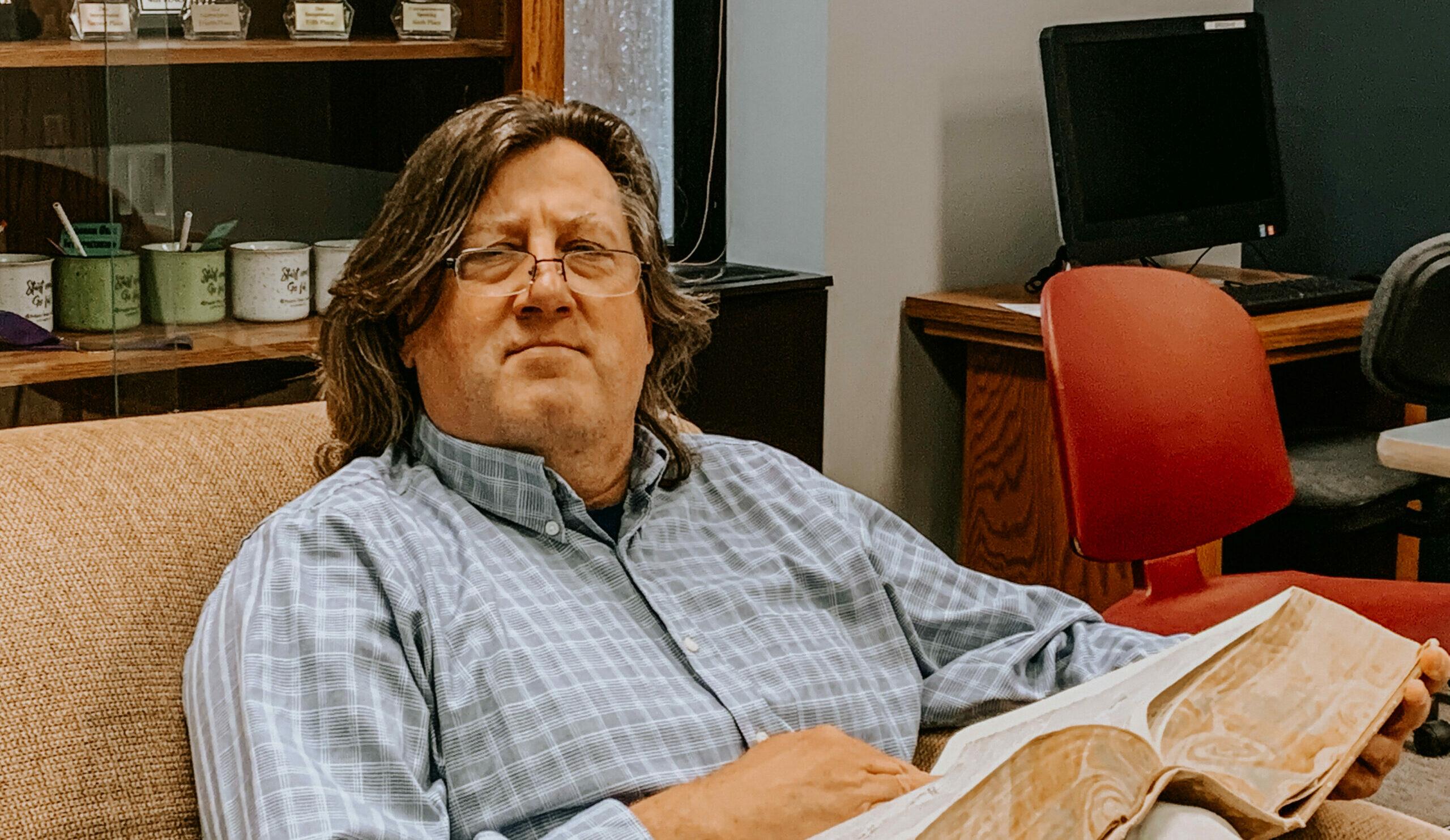 Henry Krusiewicz, Professor of English | Faces of Midland: Employee Edition | Midland University